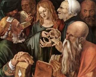 Durer Christ doctors (1).jpg