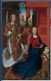 Annunciation MET Piemont Morgan Rogier Memling.jpg