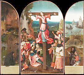 Bosch Crucifixion  St Julia.jpg
