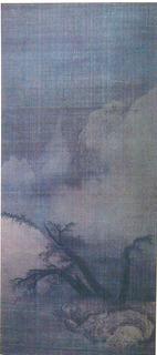 梁楷 雪山図P1000531.JPG