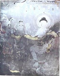 法隆寺壁画 被災後.JPG