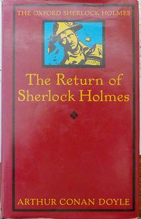 The Returm pf Sherlock  Holmes.JPG