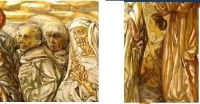 fujita chapelle fresco detail.jpg